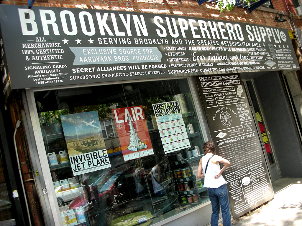 Brooklyn Superheroes Supply CO