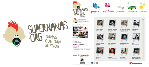 Logo SuperNanas + Web SuperNanas vol 2 ecommerce
